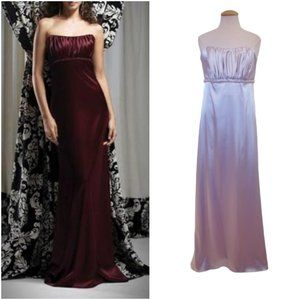 """Dessy Collection """"Sterling"""" Strapless Gown NWT- 8"""